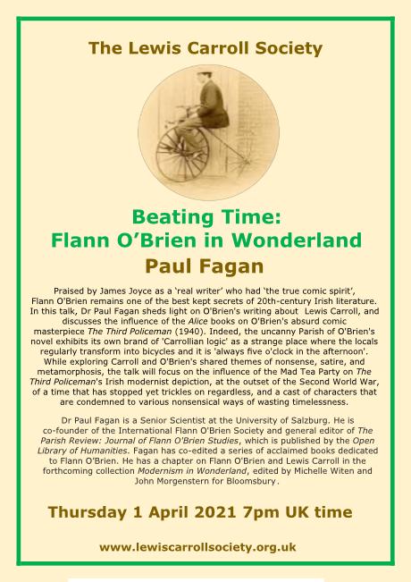 Flann O'Brien in Wonderland