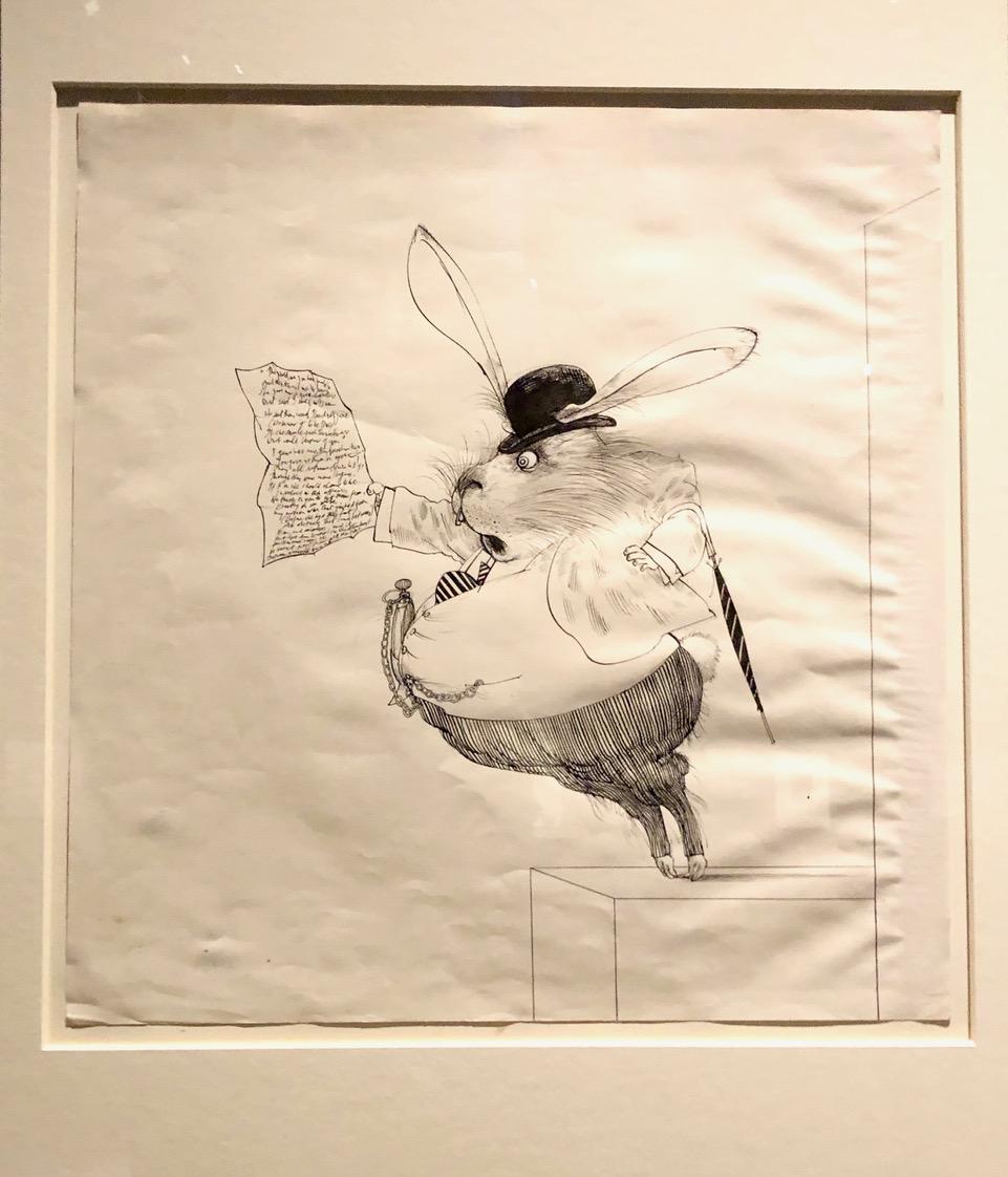Ralph Steadman's White Rabbit (1967)