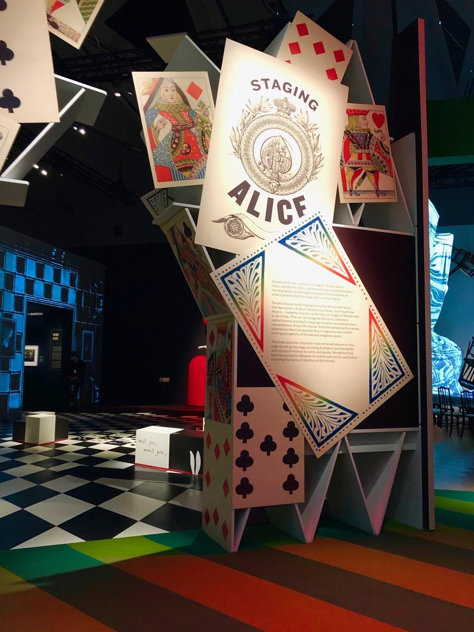 Staging Alice; theatre and musical costume design