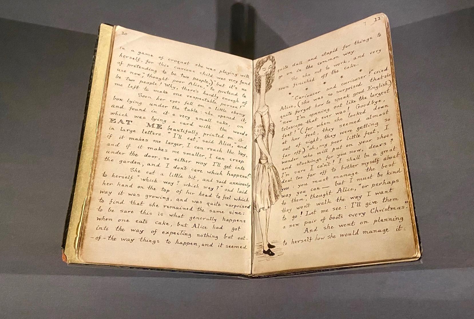 The original manuscript of Alice's Adventures Underground